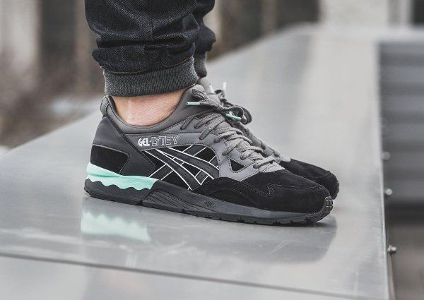 2019 V Asics Gel Black Suede Lyte Lux En Casual TurquoiseClothing PkZuXOi