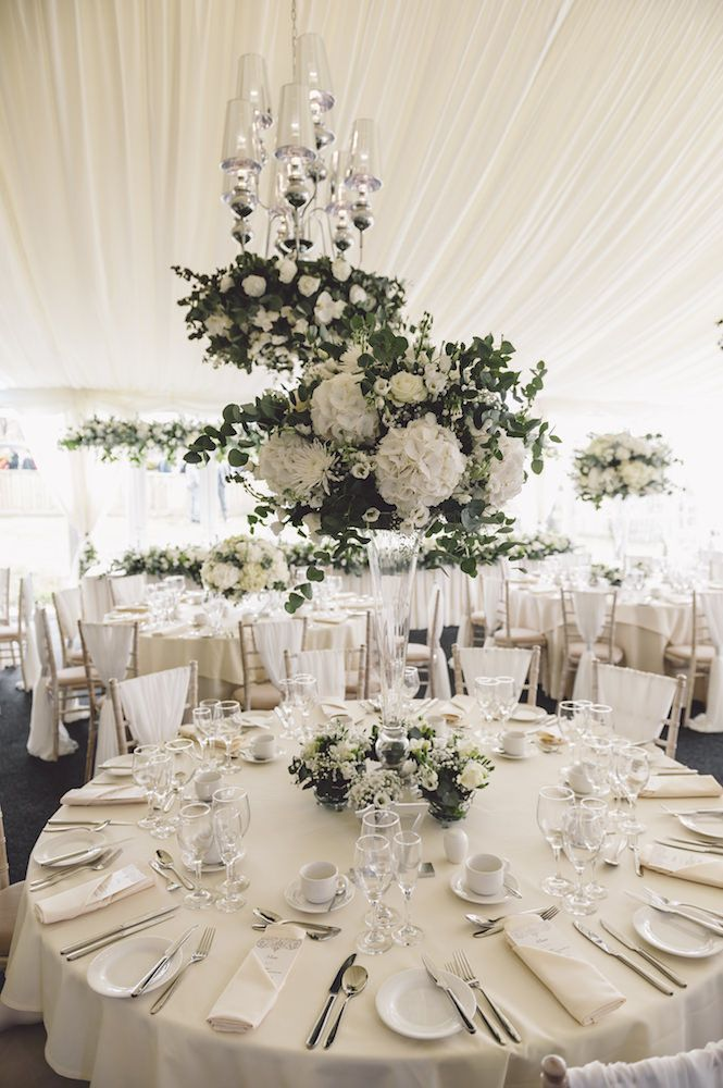 All White Marquee Reception Cherish By Suzanne Neville Luxury Coastal Wedding At Oldwalls
