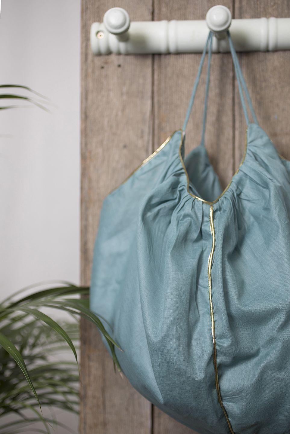 MUSKHANE Summer17 - #baluchon #bag in cotton #handmade in Nepal- photo #maevadelacroix #muskhane