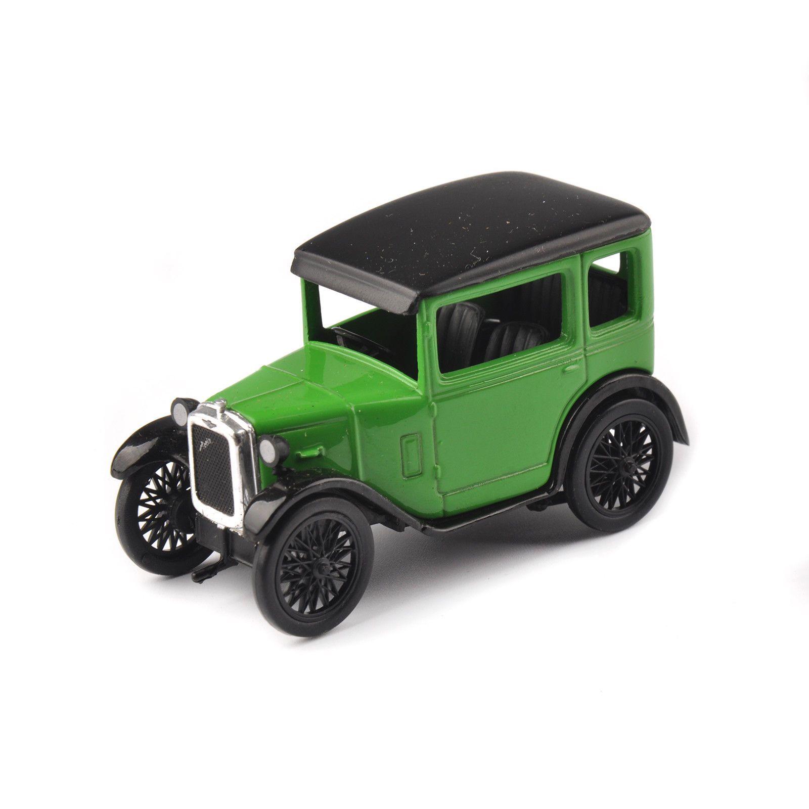 5.99 1/43 Green Oxford Austin Seven Rn Saloon