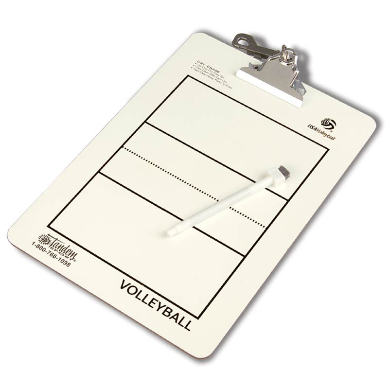 Tandem Coaches Volleyball Clipboard Volleyball Coaching Sports Coach