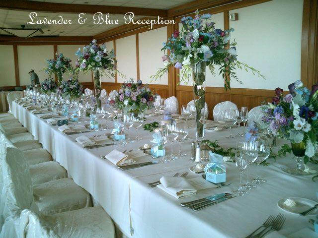 wisteria wedding color scheme | Nangise starfish wedding programs Celebrity Wedding photo The man of · Reception TableWedding ... & wisteria wedding color scheme | Nangise: starfish wedding programs ...