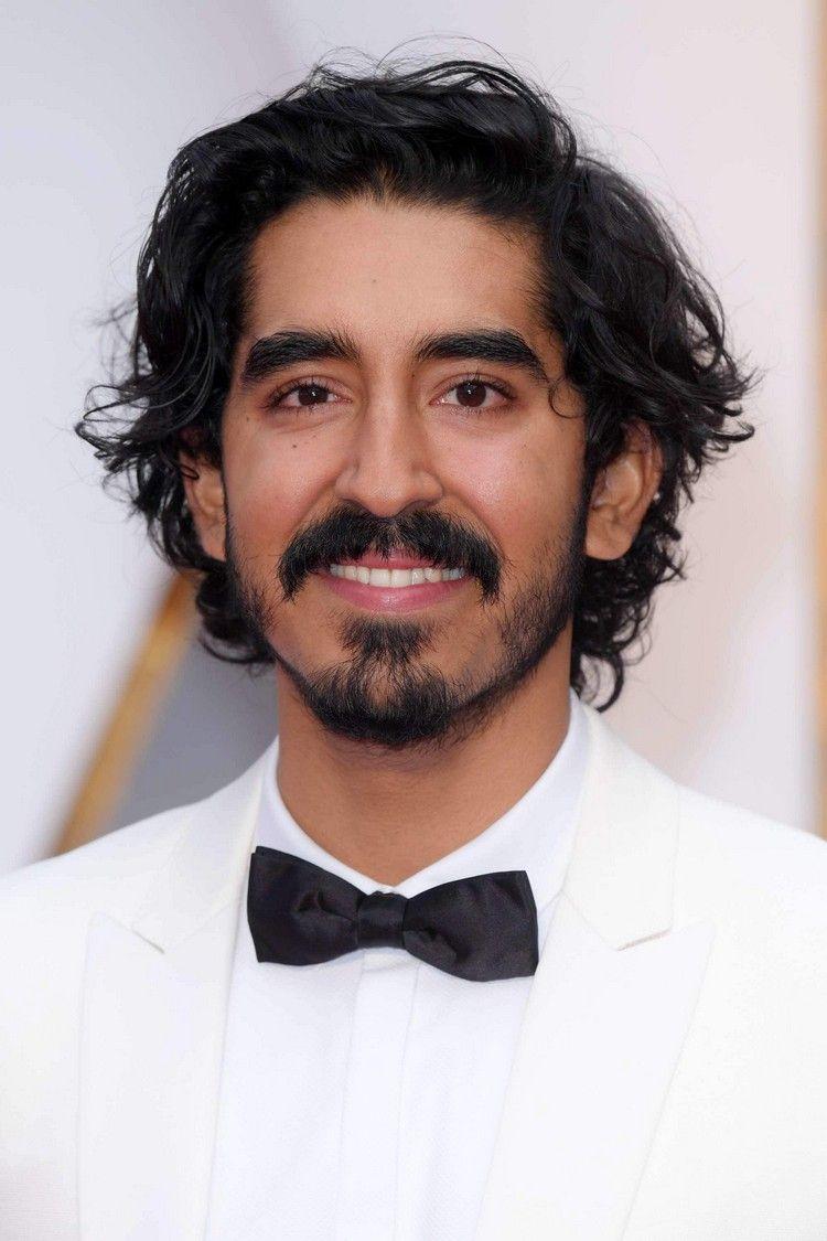Mannerfrisuren Mittellang Lockig Dev Patel Manner Haarschnitte Und
