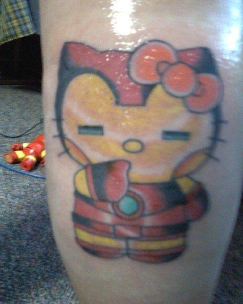 Hello Kitty Iron Man Tattoo Hello Kitty Tattoos Iron Man Tattoo Tattoos