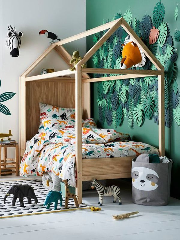 Kids Back To Jungle: 20 Indoor Jungle Themed Ideas in 2020 ...