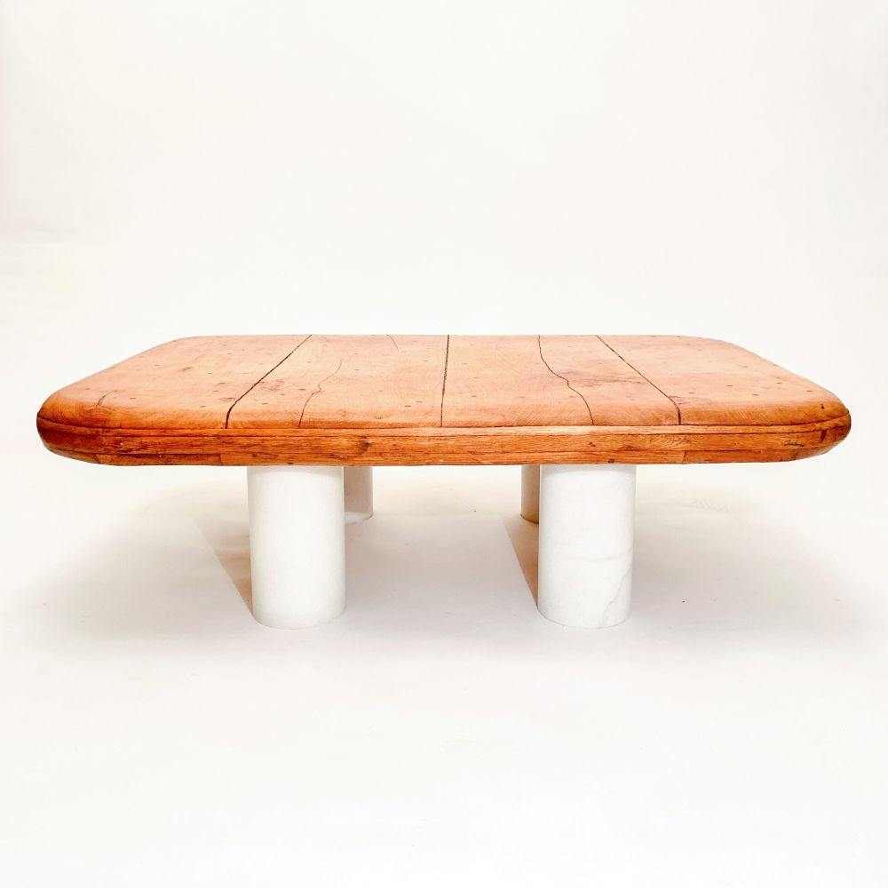 1970s Coffee Table Re Did To Become A Bench Cushion And Baskets To Come Old Coffee Tables Refurbished Furniture Redo Furniture [ 2270 x 4279 Pixel ]