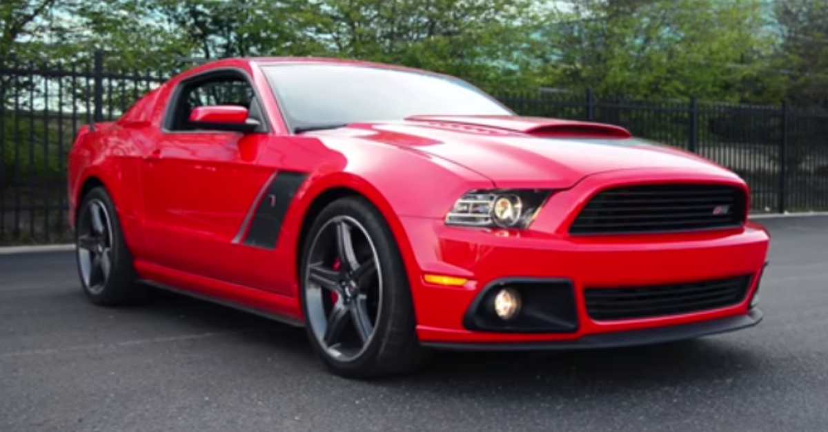 2014 FORD MUSTANG GT ROUSH STAGE 3 TEST DRIVE - AMERICAN MUSCLE CAR ...