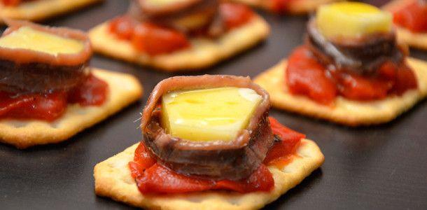 recetas de pintxos de queso