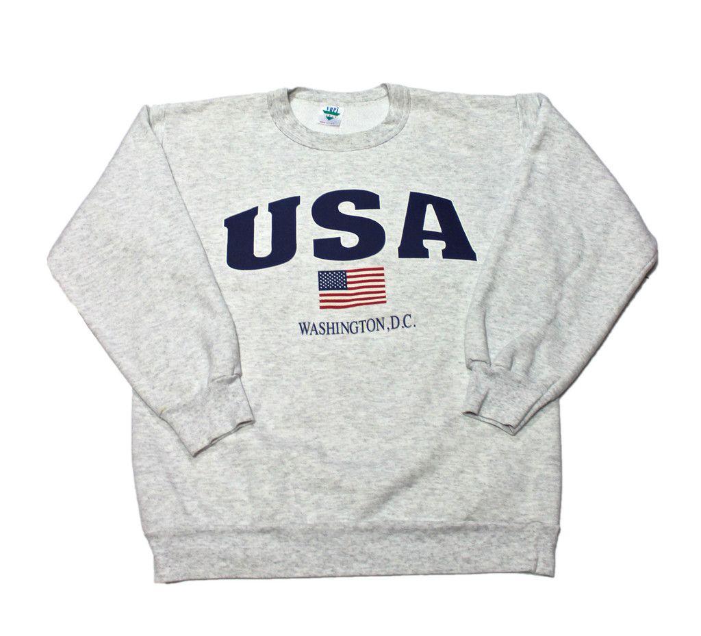 Vintage 90s Usa Washington D C Crewneck Sweatshirt Mens Size Small 35 00 Vintage Sweatshirt Mens Sweatshirts Sweatshirts [ 929 x 1024 Pixel ]