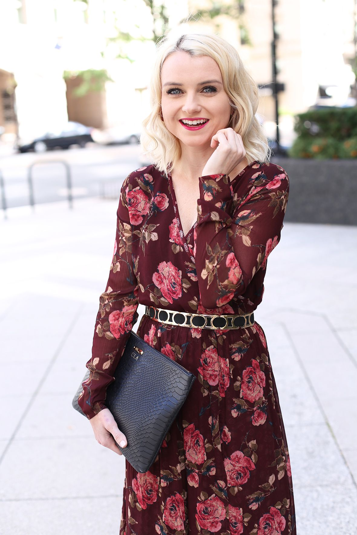 Fall floral long sleeve maxi dress sleeve floral maxi dress and