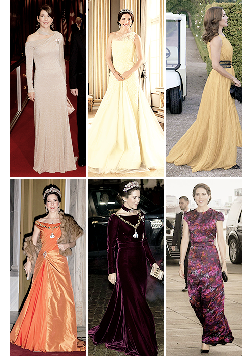 gabriellademonaco: Crown Princess Mary Evening Gowns | Mary Crown ...