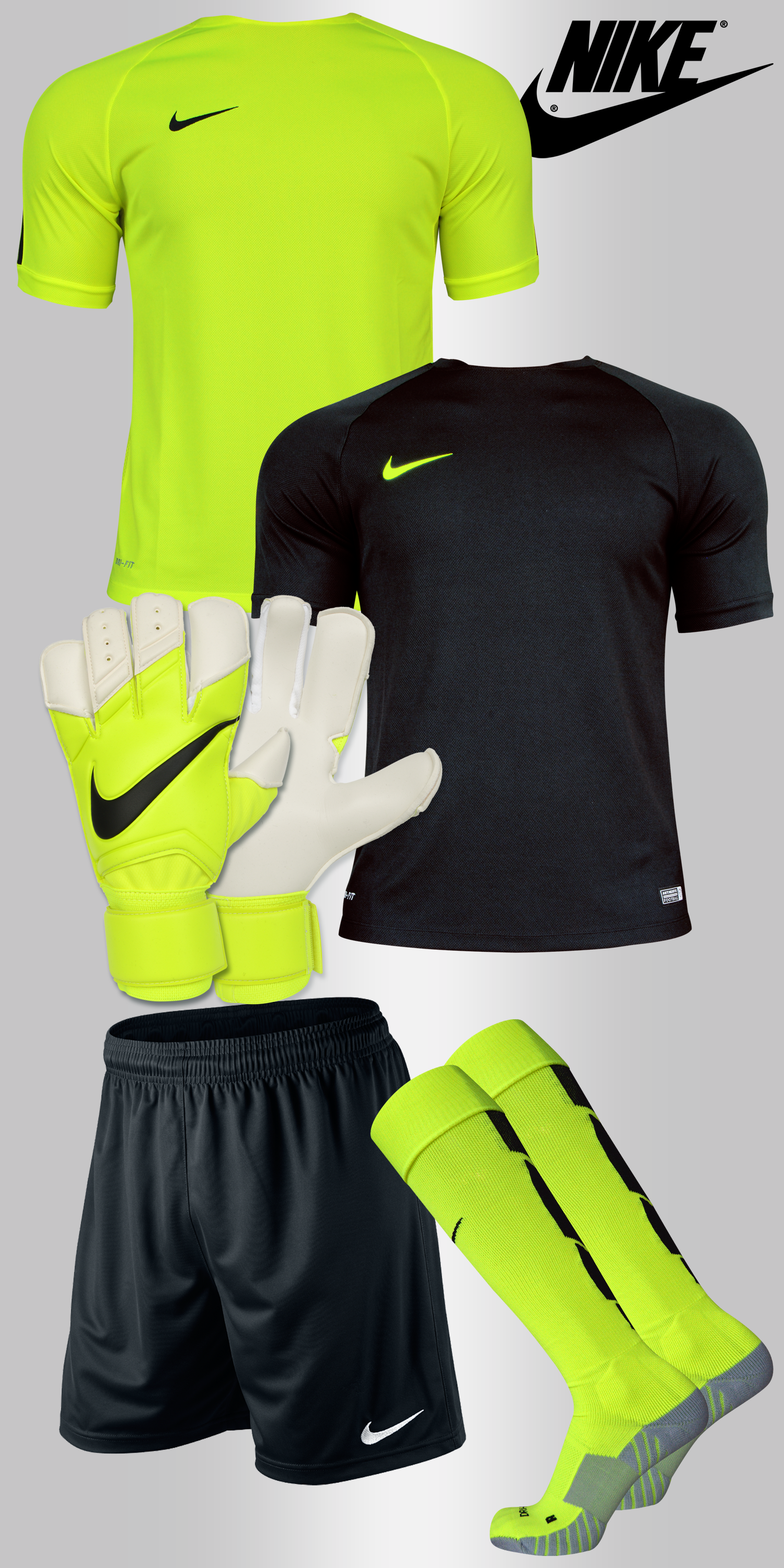 Goalkeeper Set Nike Squad Flash | Arquero de futbol, Portero