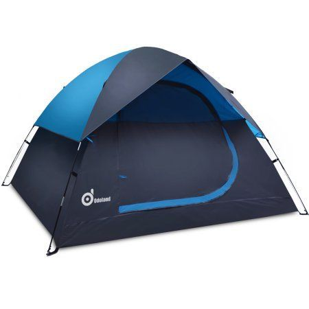 Odoland 3 Person Large Tent Waterproof Lightweight Tent with Carry Bag Blue and Gray  sc 1 st  Pinterest & Odoland 3 Person Large Tent Waterproof Lightweight Tent with Carry ...
