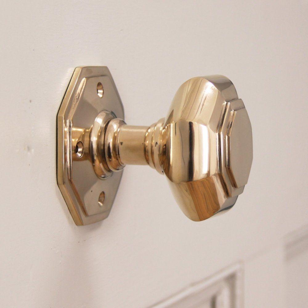 Antique brass front door knobs  Brass Door Knob With Lock  retrocomputinggeek