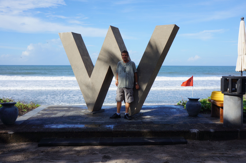 the W hotel Bali