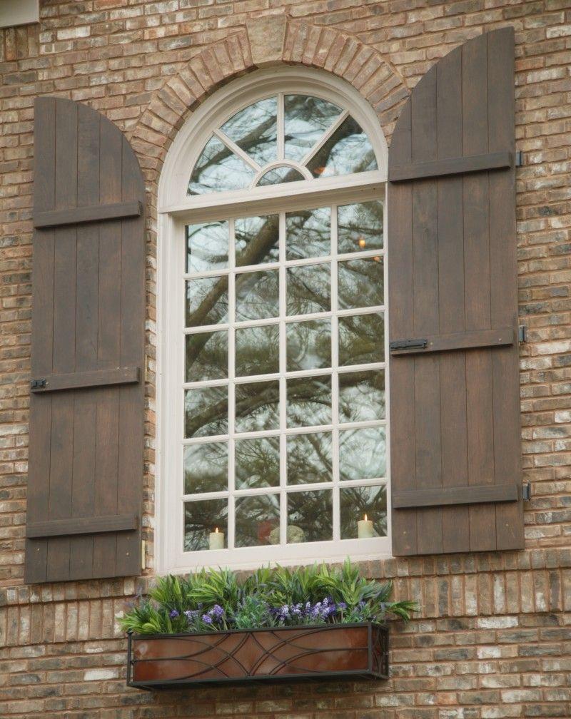 More Ideas Below Exterior Board And Batten Siding Diy Board And Batten Siding With Brick Farmhouse Shutters Exterior Window Shutters Exterior Windows Exterior