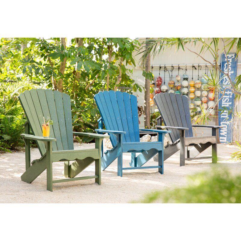 Sandiford Plastic Adirondack Chair In 2020 Adirondack Chair