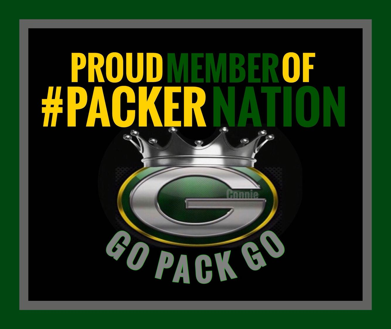 Packer Nation Rules Green Bay Packers Fans Green Bay Packers Go Packers