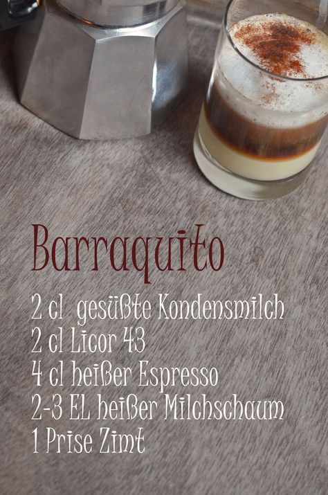 Photo of Recipe for Barraquito, the coffee specialty from Tenerife