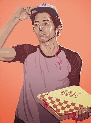 Los personajes de The Walking Dead en versión retro | Carlost