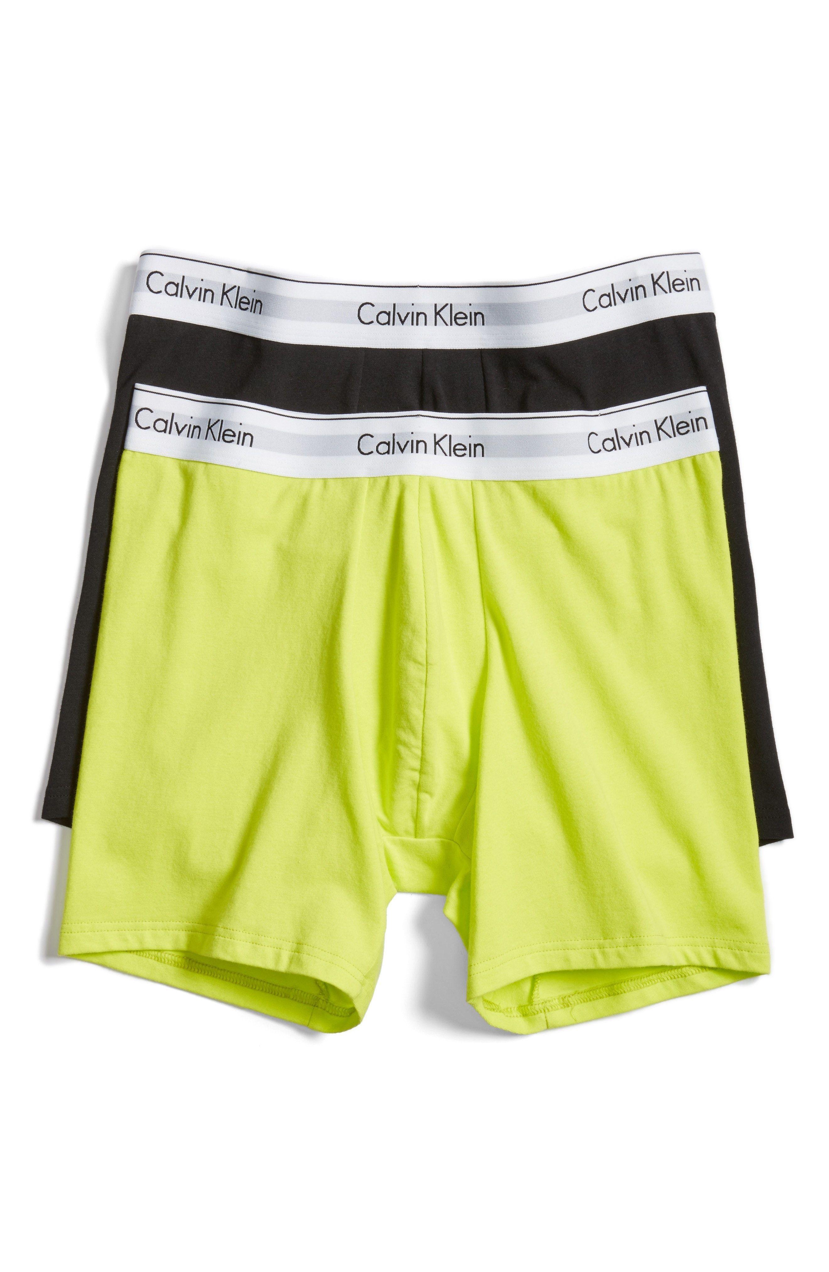 aabb92613eb1 New Calvin Klein Modern Assorted 2-Pack Stretch Cotton Boxer Briefs ,NIGHT  BLUE fashion online. [$29.5]newoffershop win<<
