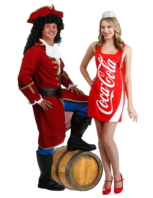 Captain Morgan and Coke Couples Costumes | Products I Love