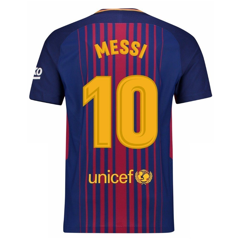 f17c6e8f47 Buy Marex Barcelona home Blue Red Messi Football Jersey for Men Online at  Low Prices