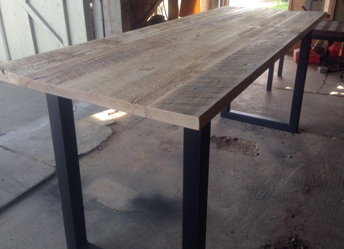 Black S Farmwood East Bay Bar Height Reclaimed Wood