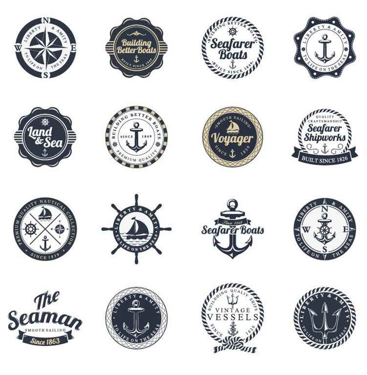 FREE SHIP CLASSIC ANCHOR BADGE EMBLEM FOR SAILORS OCEAN LOVERS BOAT CAPTAIN
