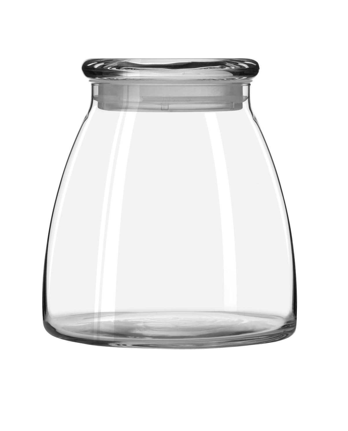 Libbey 62-Ounce Vibe Storage Jars, Set of 4:✔
