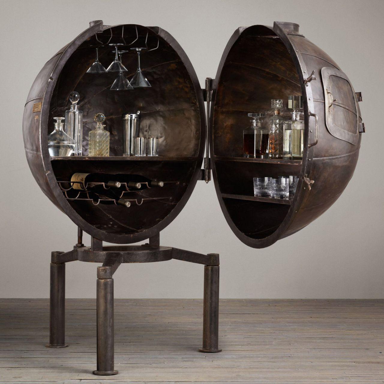 Restoration Hardware German Light Bulb Bar: Steampunk Furniture, Steampunk Bar Und Bars For Home