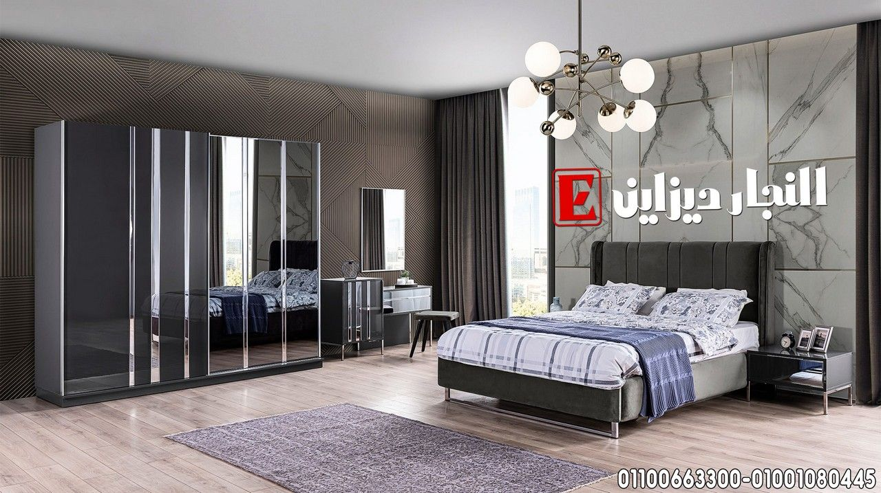 صور غرف نوم مودرن ايطالي 2025 غرف نوم رومانسيه من معارض النجار ديزاين Home Room Design Bedroom Bed Design Luxury Bedroom Master