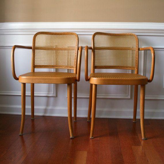 Chairs Thonet Bentwood Prague Chair Stendig By RhapsodyAttic