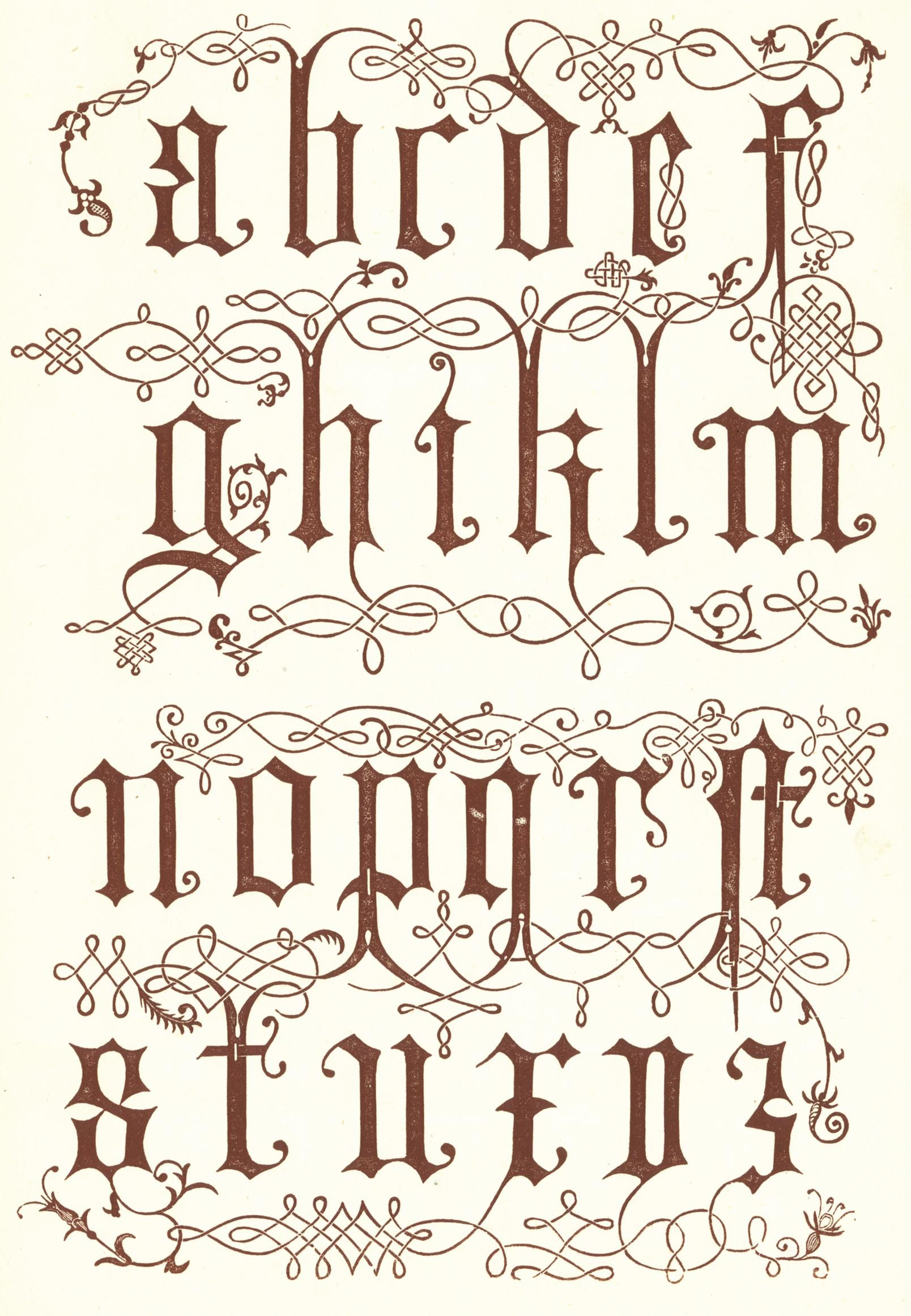 2917e1f5196 16th Century from Wood Engravings - details Graffiti Font
