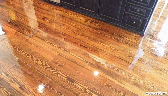 Heart Pine Floors Refinished In Norcross Ga Hardwood Floors