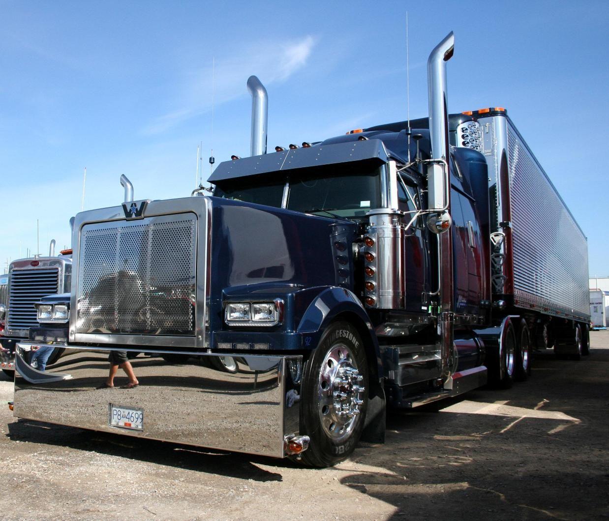 Trucking Western star trucks, Big trucks, Built truck