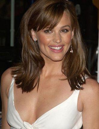 Jennifer Garner Hairstyles Classic Long Looks Jennifer Garner Hair Brunette Fringe Brunette Hair