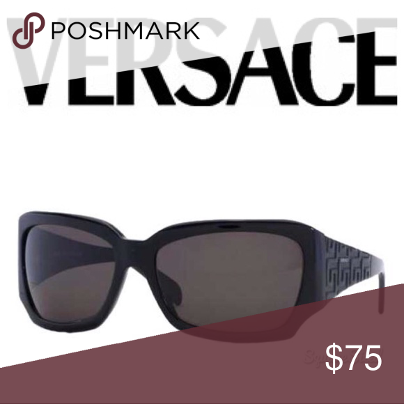 4bb277d8f16f •Versace• Vintage Oversized Black Sunglasses • Coming soon! Versace  Accessories Sunglasses