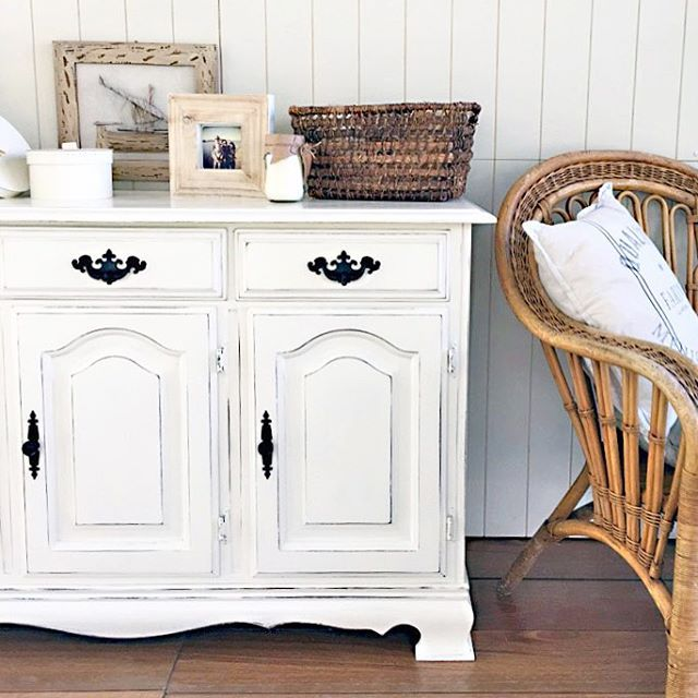 SOLD -- #forsale #sideboard in #ascp Old White {$365} #brisbane #qld ...