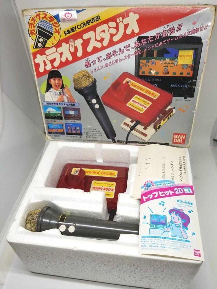 Nintendo KARAOKE STUDIO + Microphone Japan 915A27