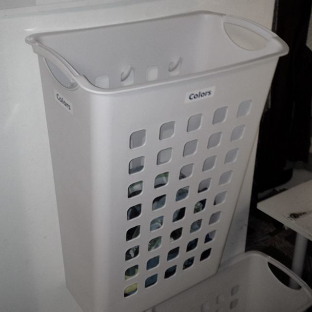 Dont Have A Lot Of Room For Laundry Baskets Use CommandTM Hooks To Hang Them Up
