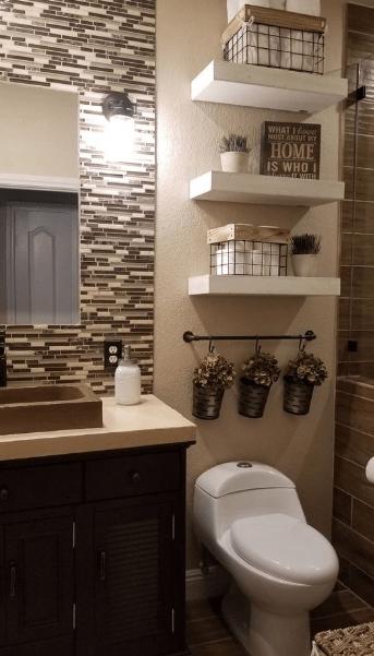 20 Small Bathroom Decoration Ideas Trendy Bathroom Designs Small Bathroom Decor Small Bathroom Remodel