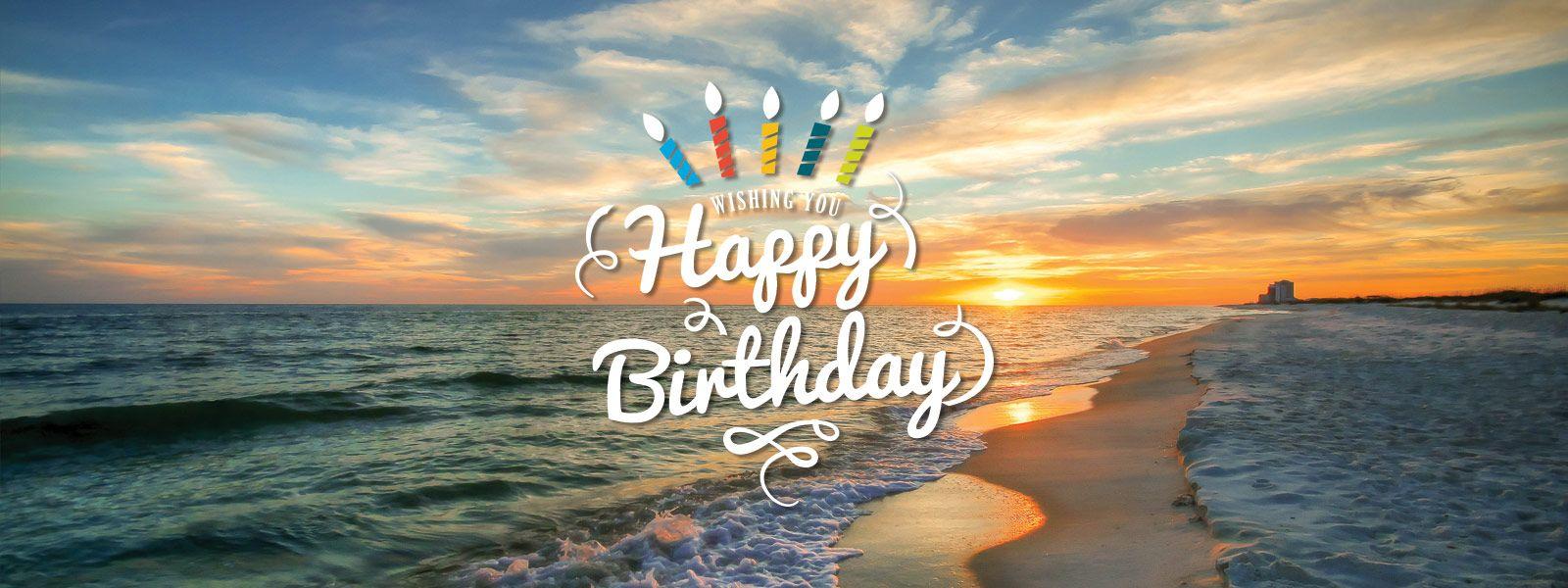 Картинки с днем рождения с морем