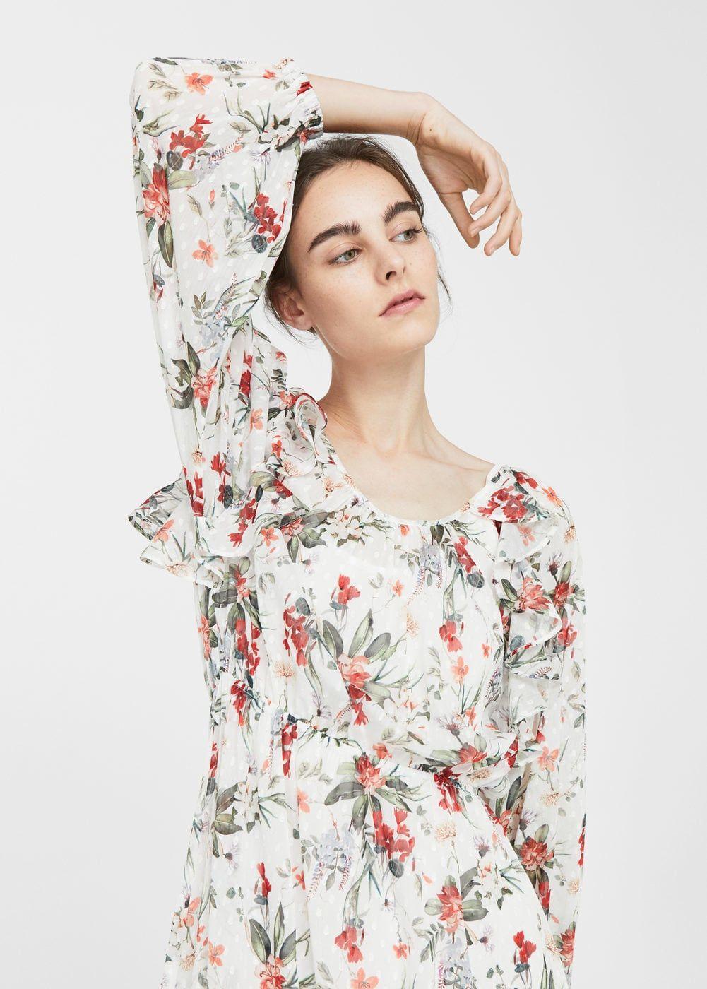 029b7b5ac8 Długa sukienka w kwiaty - Kobieta w 2018