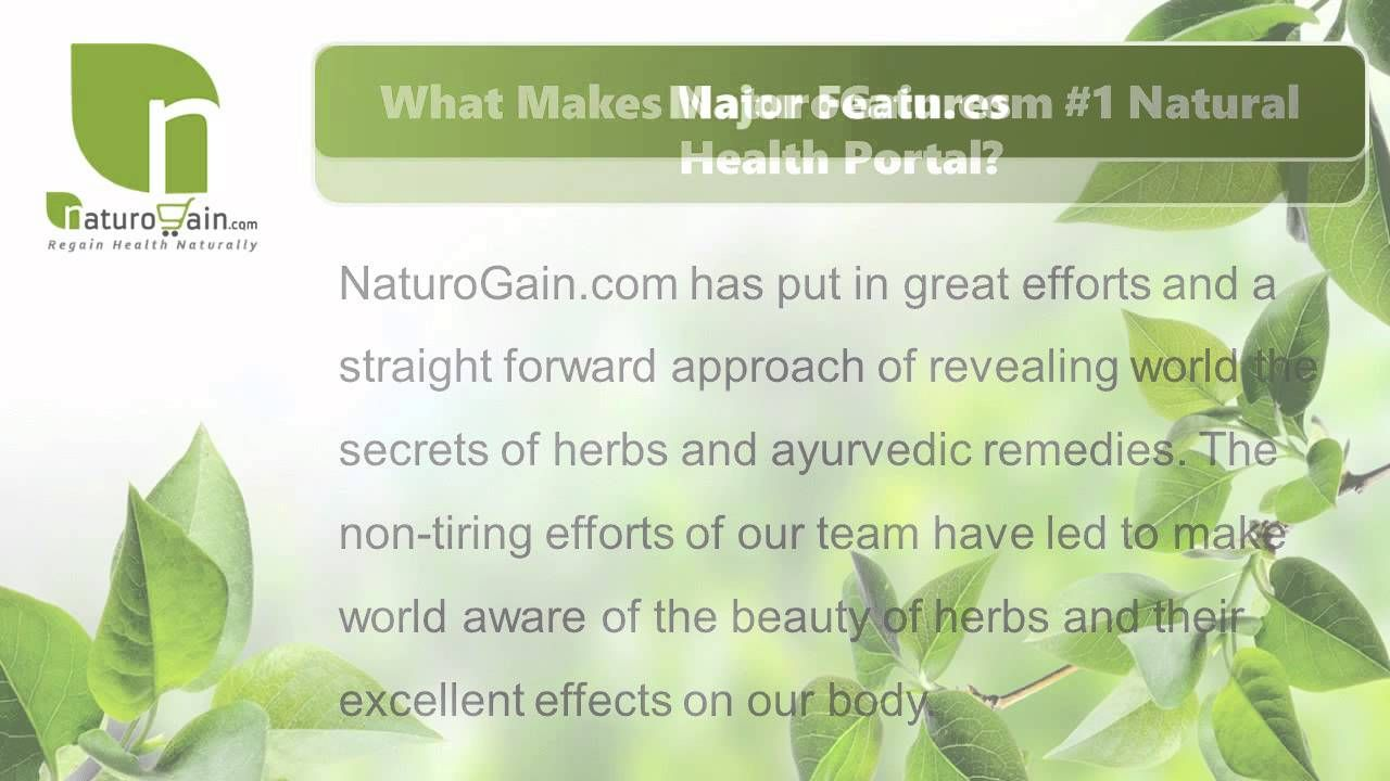NaturoGain com - Finest Online Herbal Store to Buy Natural