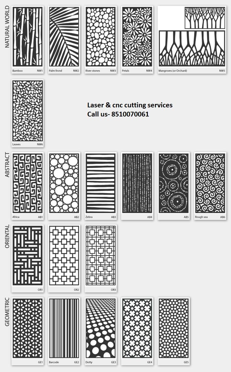 We Provide All Kind Of Laser And CNC Cutting Work On These Product Mdf Metal  Steel