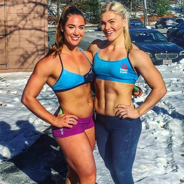 Brooke Wells & Katrin Davidsdottir