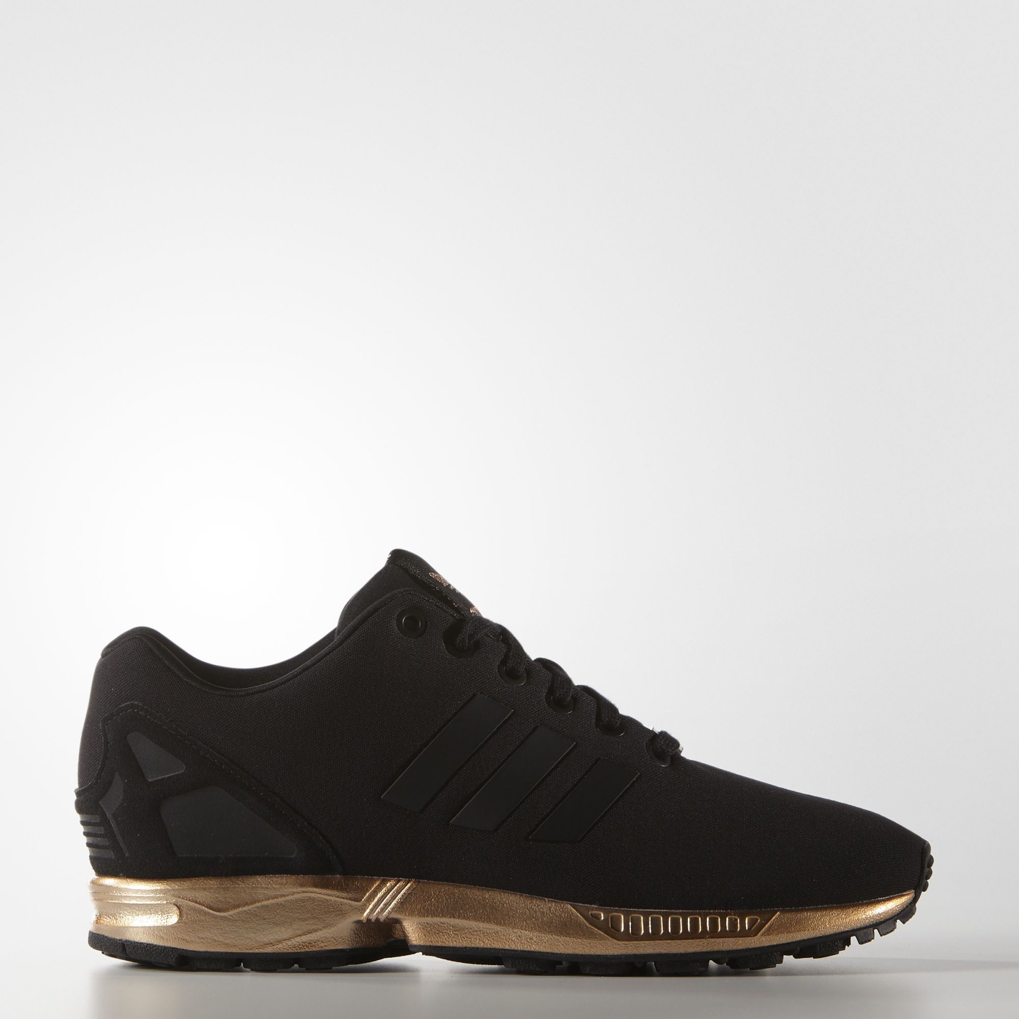 zx flux adidas black and copper