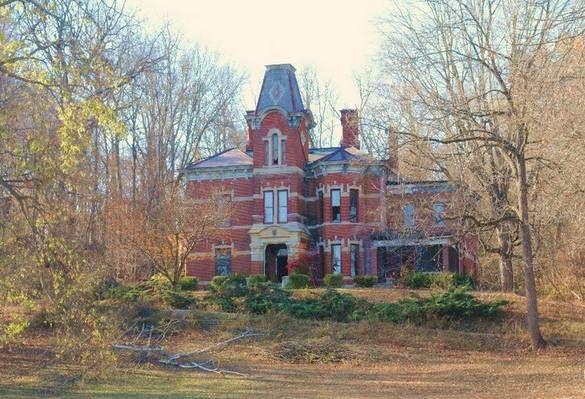 Newkirk Mansion Nashville Indiana Indiana Travel Mansions
