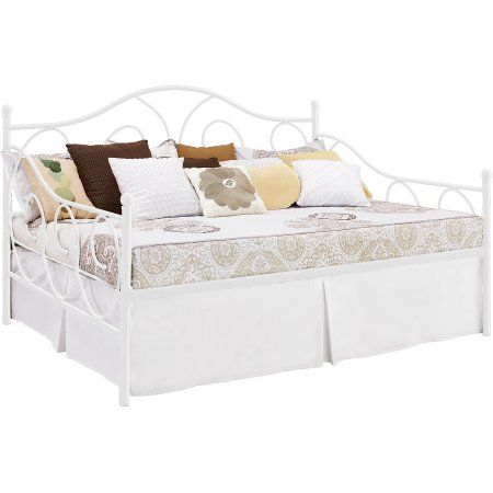 Victoria Full Size Metal Daybed, Multiple Colors - Walmart.com ...
